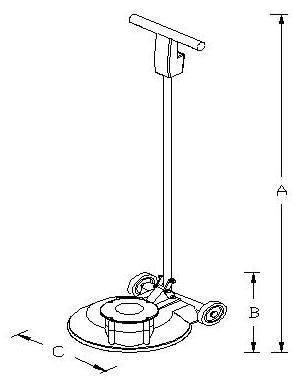 Estrichglättmaschine Benzin