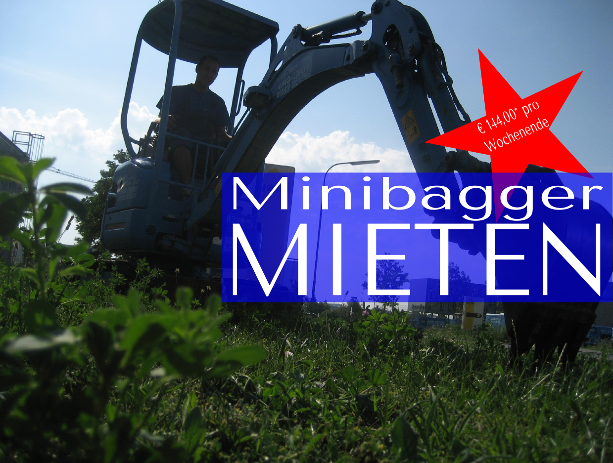 hornbach minibagger