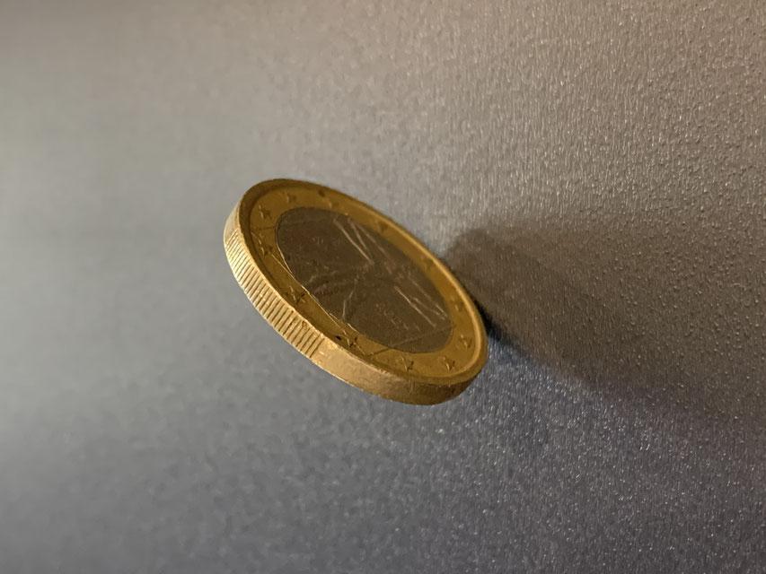 Münze für Entscheidungen