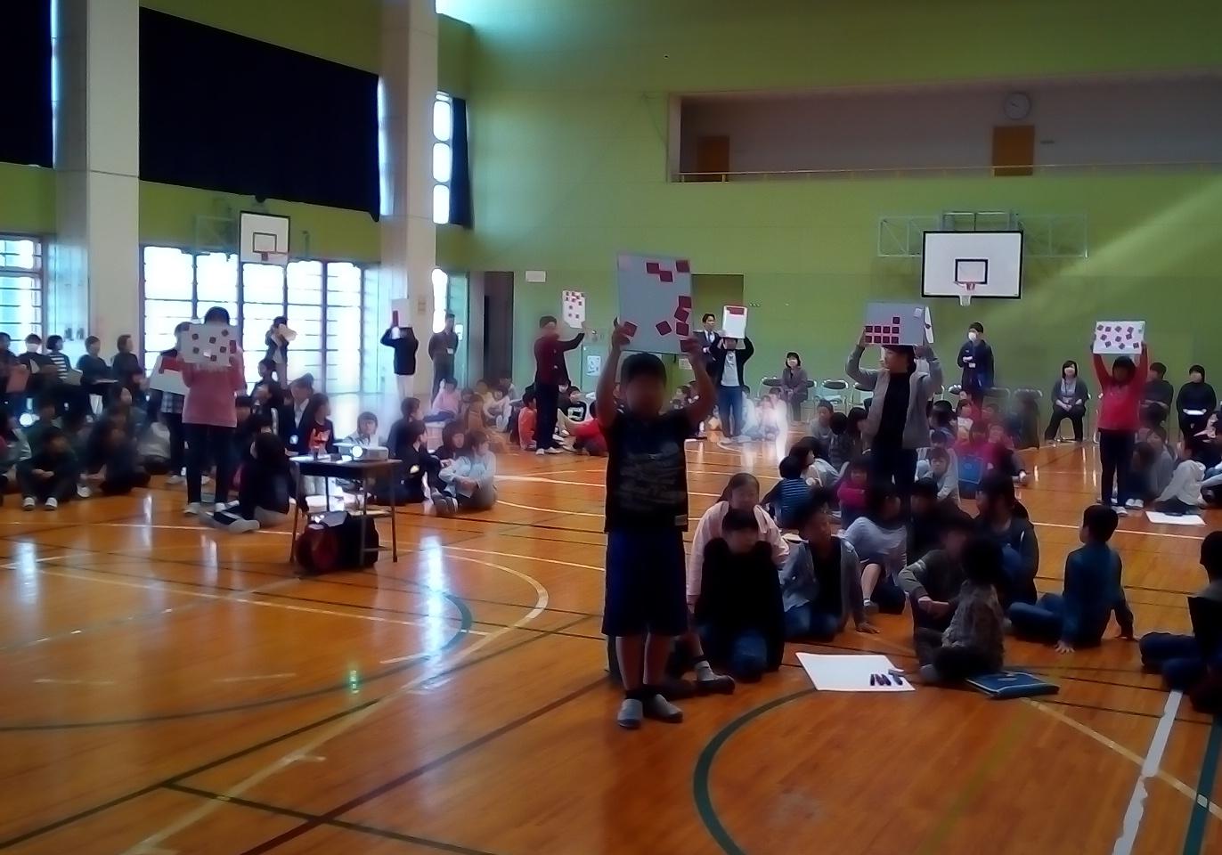 【新潟市立漆山小学校】雷・暴風・竜巻に関する学習