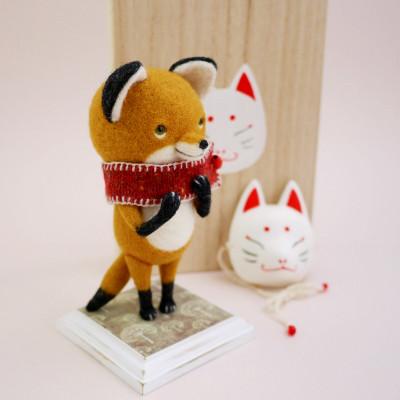 きつねさんの狐面