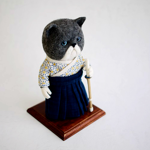 剣道の猫さん FANTANIMA!2017出品作品