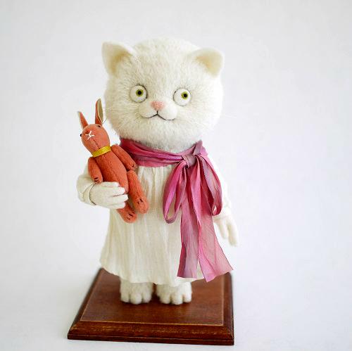 猫とうさぎ FANTANIMA!2017出品作品