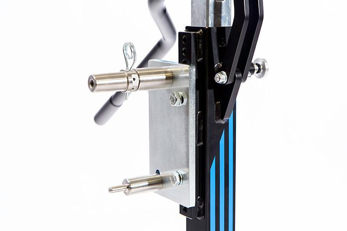 Zentralständer Adapterplatte mit Sicherungssplint
