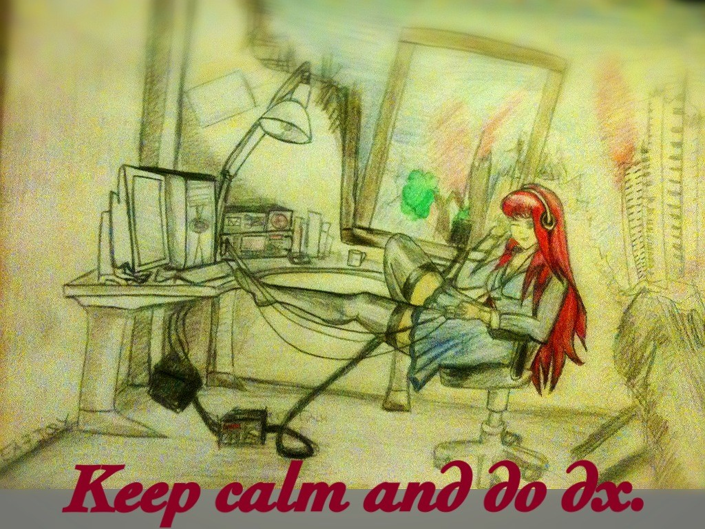 keepcalm and do dx