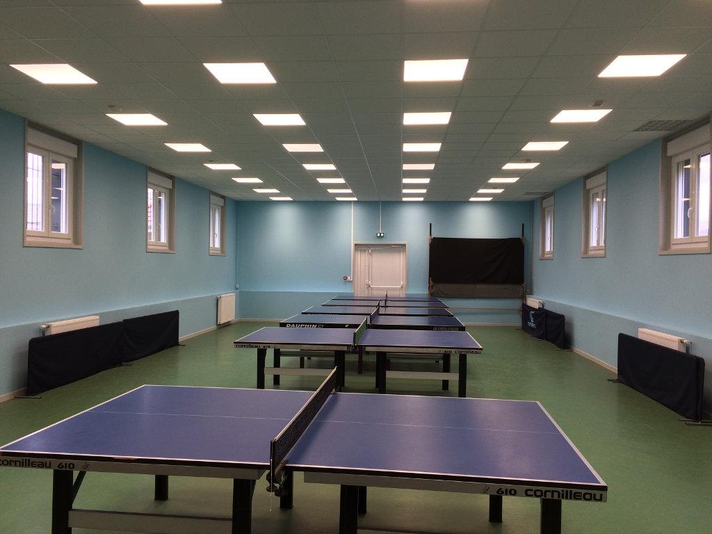 La salle d'entraînement