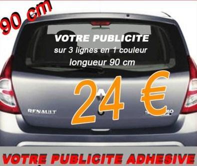 Lettrage adhesif auto etc panneau toit magnetique for Garage pret a poser