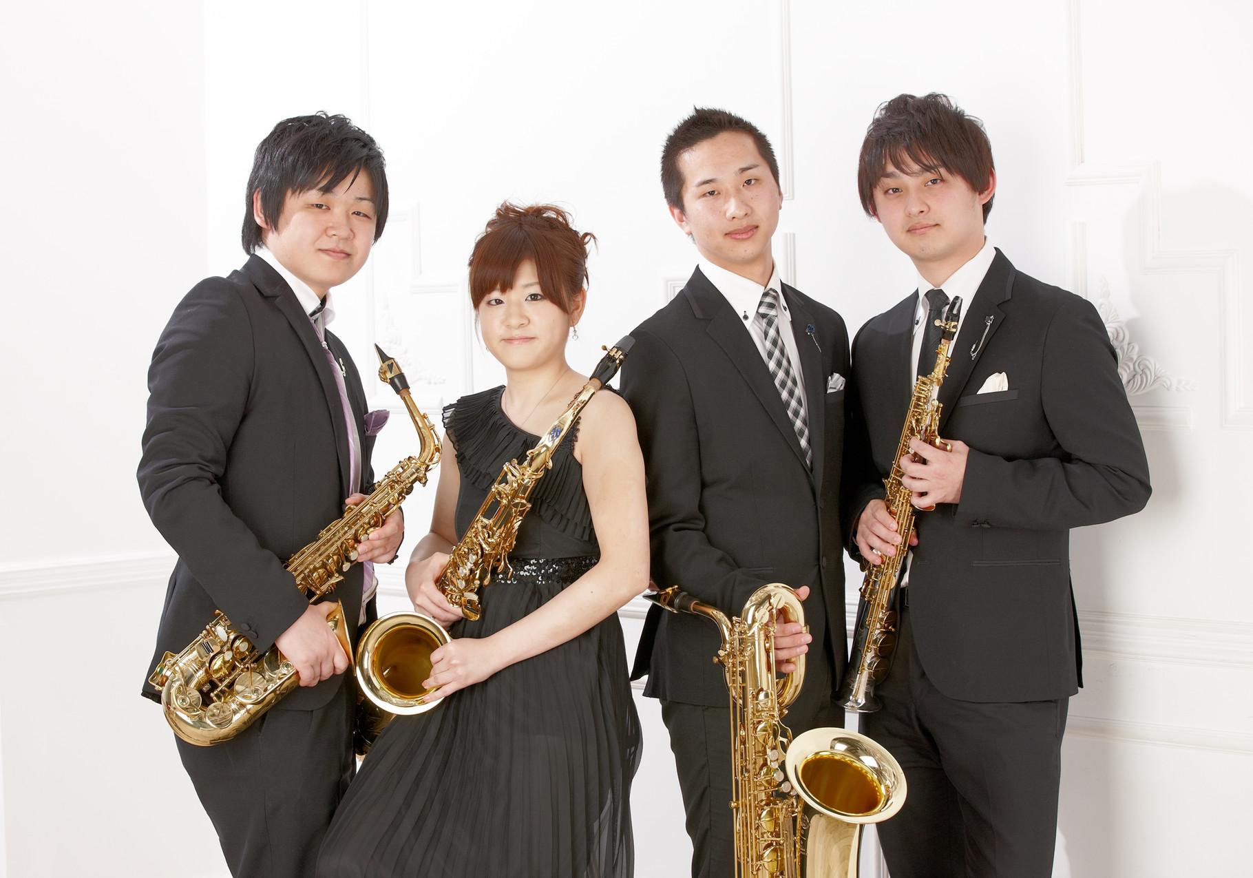サクソフォン四重奏団~奏 kanade~関東