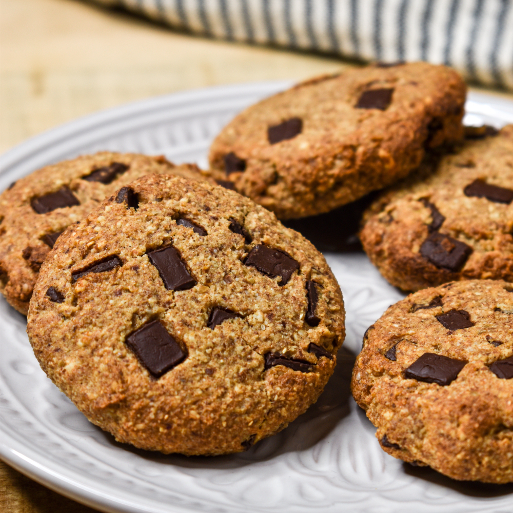 Schoko-Maulbeeren-Kekse
