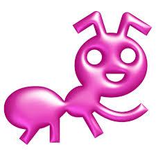 """La fourmi est """"l'emblème"""" des Animateurs  Numériques de Territoire """"(puisque ANT en  anglais signifie """"fourmi"""")."""