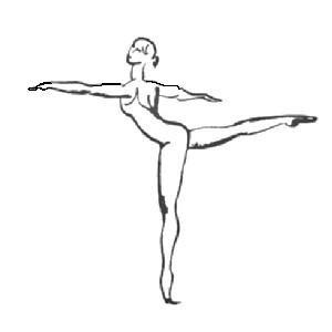 4° arabesque