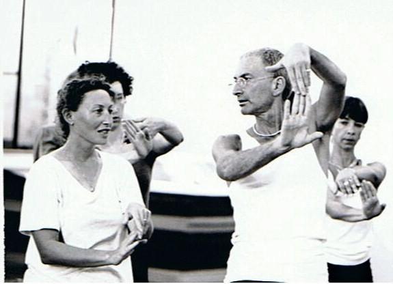 Peter Goss et Sylvie
