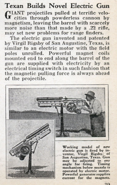 Nazi developed Particle Beam Weapon & electric gun/cannon