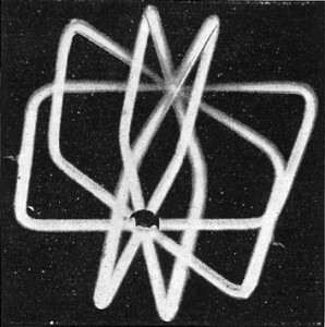 Figs. 6, 7, and 8 are Tesla tubes of different forms in which light is obtained without filament or combustion. (Photographed by their own light.)