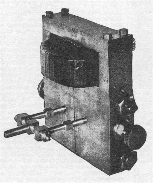 Figure 29. Small high frequency mechanical and electrical oscillator used in many investigations.