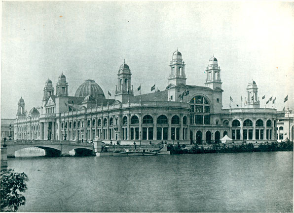 The Electricity Building - where Westinghouse's Exposition was located.