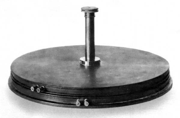 Tesla's Static Eliminator, Patented and Used by Him over Twenty Years Ago. It will Be Fully Described in an Early Issue of the Electrical Experimenter.