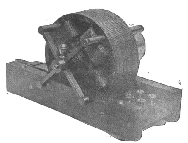 Tesla's induction motor (1884)