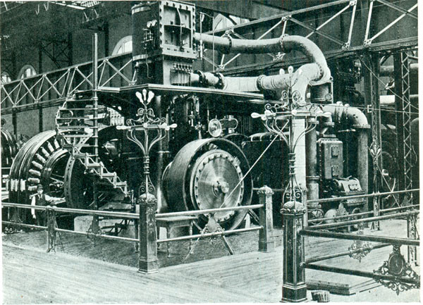 Westinhouse generator