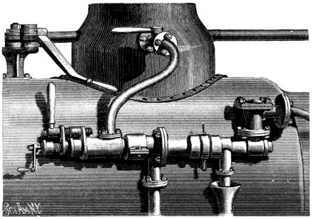 INJECTOR ON LOCOMOTIVE