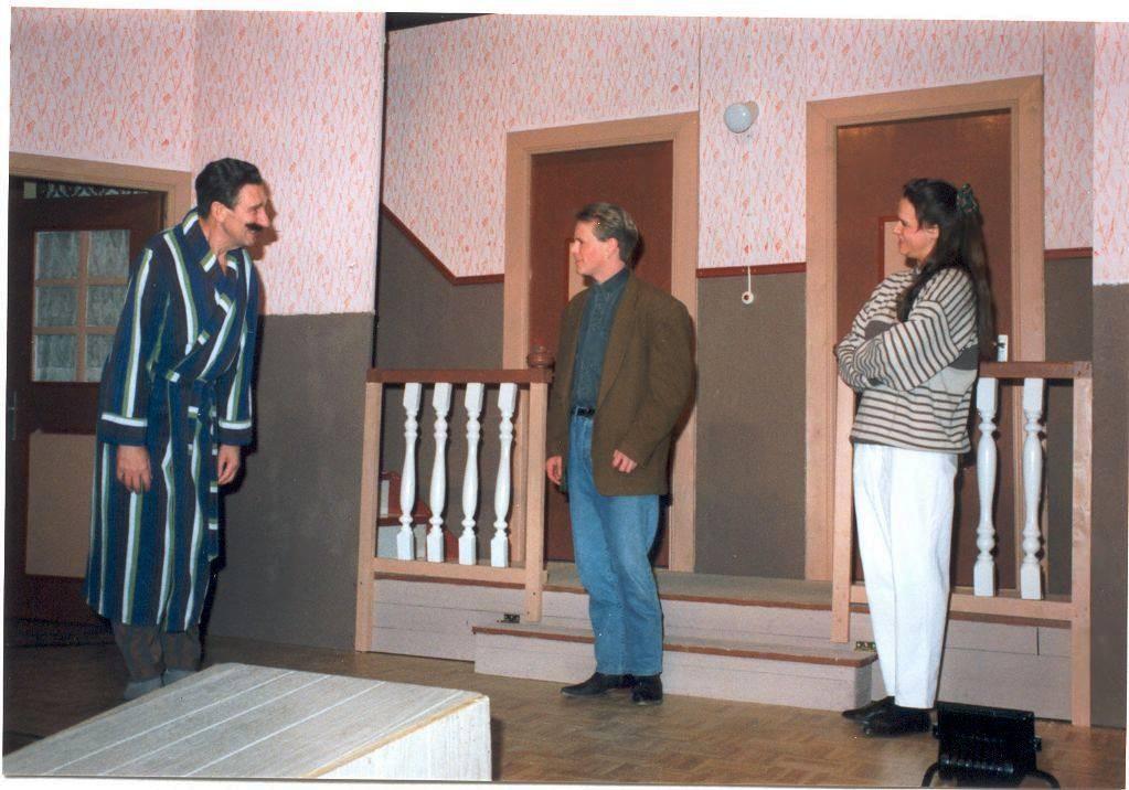 1991 - Sluderkraam in Treppenhus