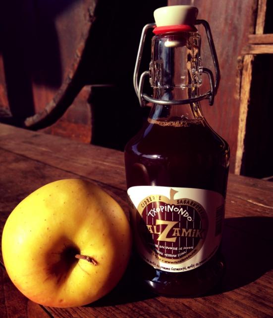 Balzamiko, le vinaigre balsamique de pomme