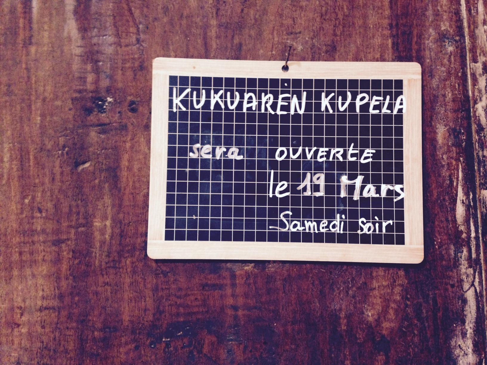 Kukuaren Kupela el sabado 21 de marzo 20:00.