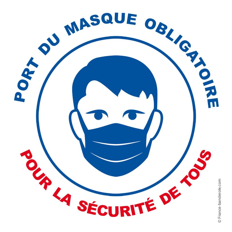 Respecter le port du masque