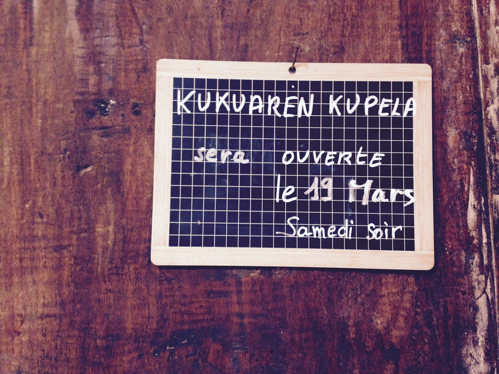 Kukuaren Kupela le samedi 21 mars à partir de 20h00.