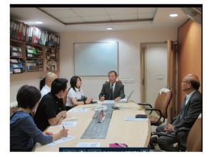 日本商工会議所でのブリーフィング 中小企業のインド進出