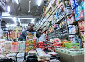 インドのマーケットの様子
