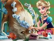 Игра Холодное сердце спасти Свена