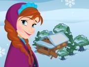 Игра Холодное сердце приключения Анны