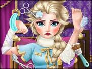 Игра Холодное сердце доктор для Эльзы