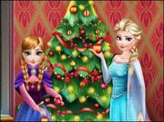 Игра Холодное сердце новогодняя елка