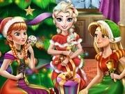 Игра Холодное сердце рождественская вечеринка