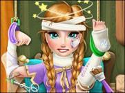 Игра Холодное сердце доктор для Анны
