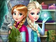 Игра модная конкуренция Анны и Эльзы