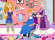 Игра уборка в салоне красоты Эльзы