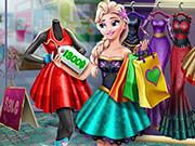 Игра настоящий шоппинг с Эльзой из Холодного сердца