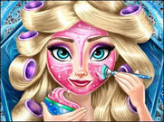 Игра Холодное сердце косметические процедуры Эльзы