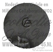 Dutch SS NSB Combat Sacrifice plaque Strijd en Offer Plaquette  ( NSB Badge )