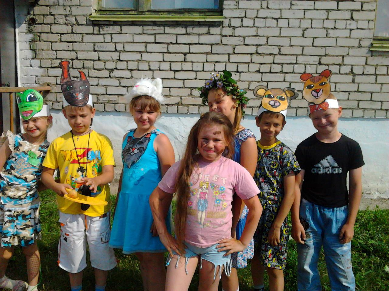 """летний лагерь """"Ромашка"""", июнь 2012г. 3 """"А"""" класс. """"Весёлые старты""""."""