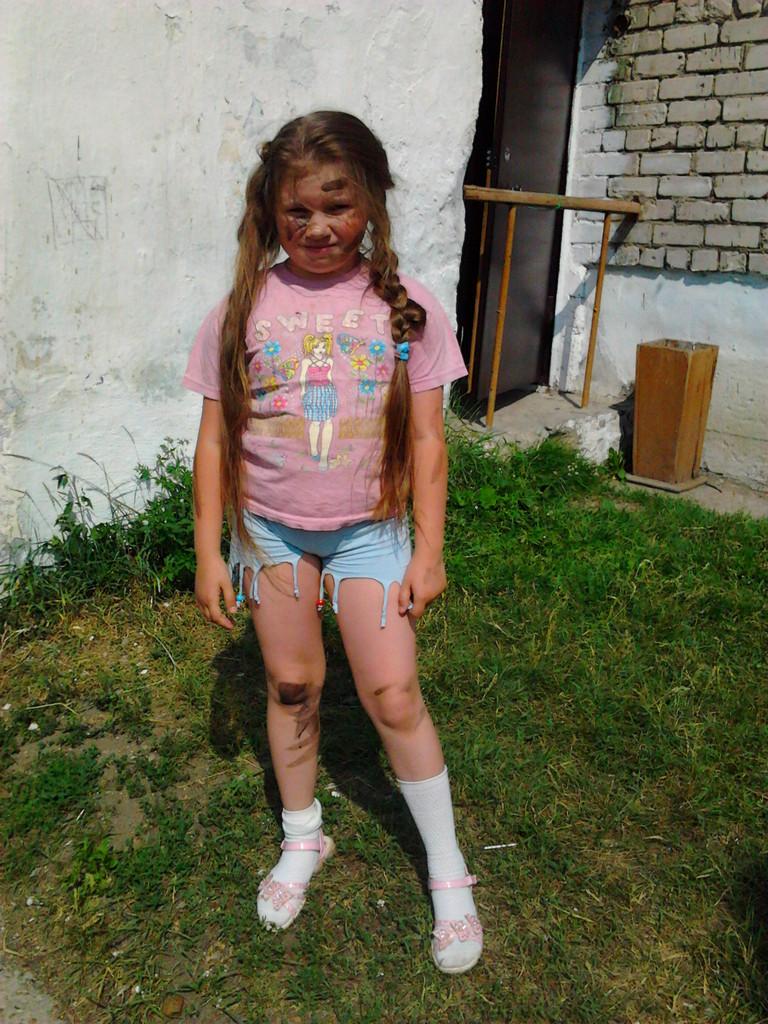Саша Глухова в роли Лени