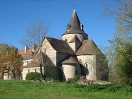 Sauvelade : église de l'abbaye