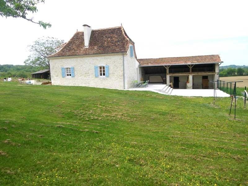 Gîte Lassègues, vue latérale