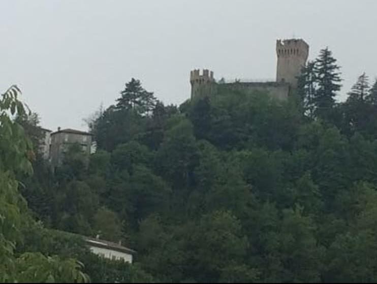 La Rocca di Arquata del Tronto, appena ieri.