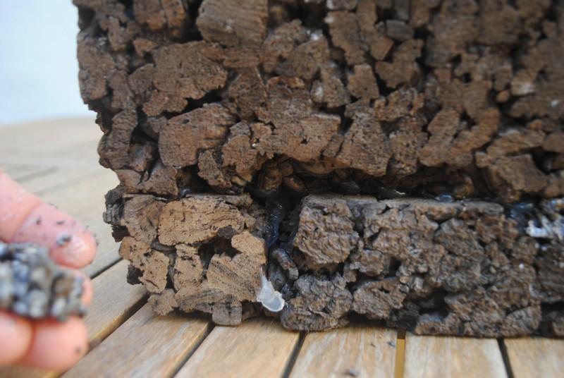 El forat abans de reparar