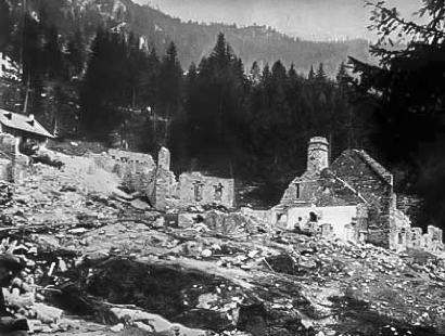Historische Verhüttungsanlage Ausserferrera