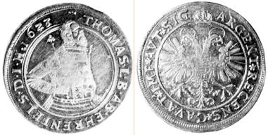 Münze aus Silber von Taspin, Taspegn.